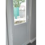 White-uPVC-Back-Door