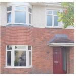 3 Hansfield Clonee - Cream Bay Windows and Georgian Red Door