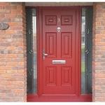 Georgian Solid Door at 3 Hansfield, Clonee