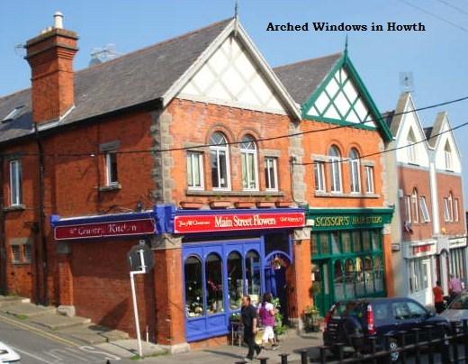 upvc arched windows