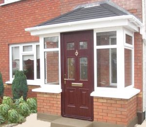 porch in citywest and upvc windows