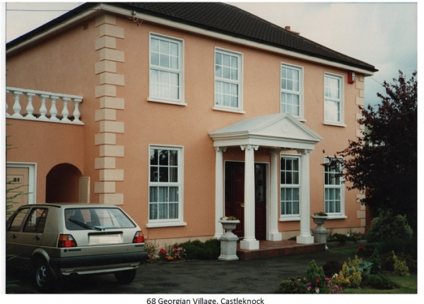 upvc double glazd windows - 69 Georgian village castlknock