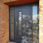 rome door with tg 132 glass