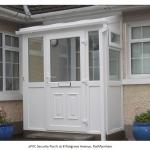 white upvc porch - 8 Nutgrove Ave - Rathfarnham