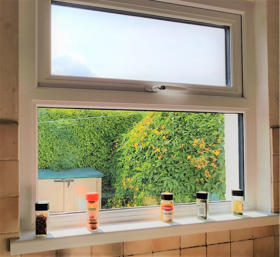 uPVC Cill in Kitchen